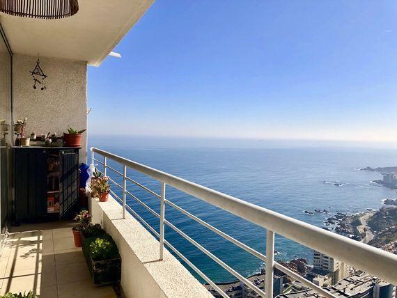 Departamento de 2 ambientes, hermosa vista, Av. Edmundo Eluchans.