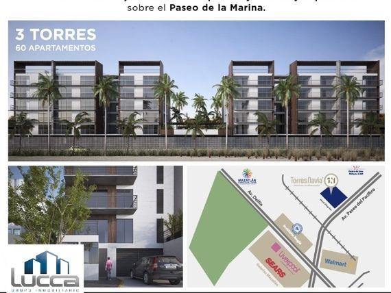Departamentos Torres Navia Modelo D A501 Vista Lateral