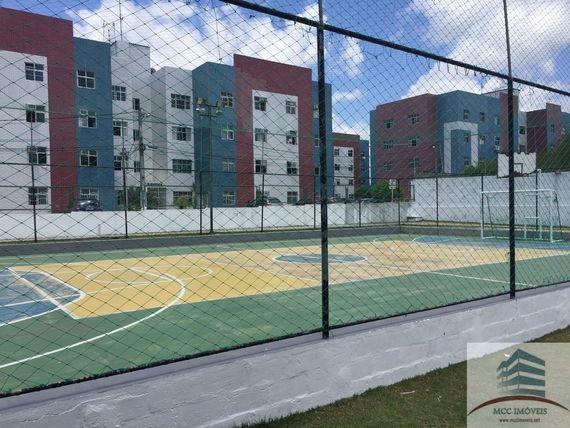 Apartamento terreo a venda em Pitimbú