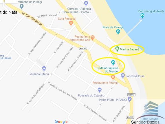 Lote a venda em Pirangi perto do Cajueiro