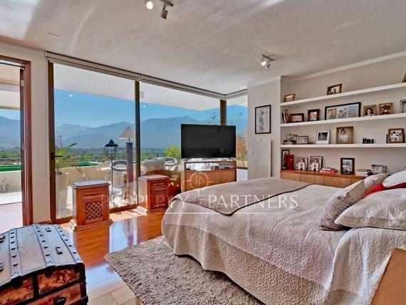 Manquehue Oriente, Duplex , Extraordinaria Vista Cordillera