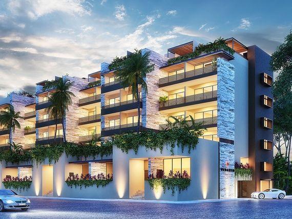 Departamentos de lujo en el centro de Playa del Carmen