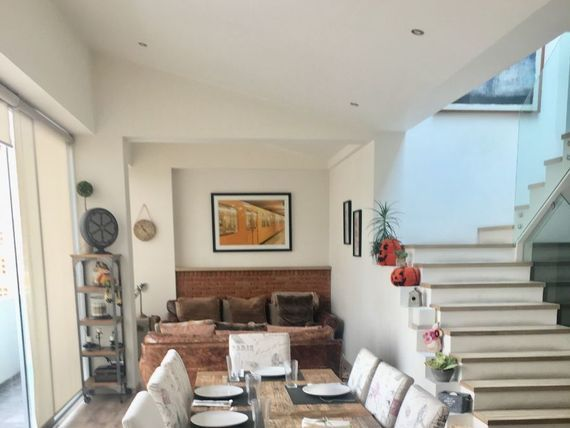 """Súper PH de 3 plantas con terraza y balcón en Camino Real de Minas, <span itemprop=""""addressLocality"""">Tetelpan</span>"""