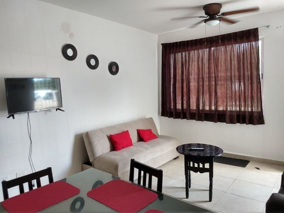 Departamento Amueblado Cancun,zona Sur