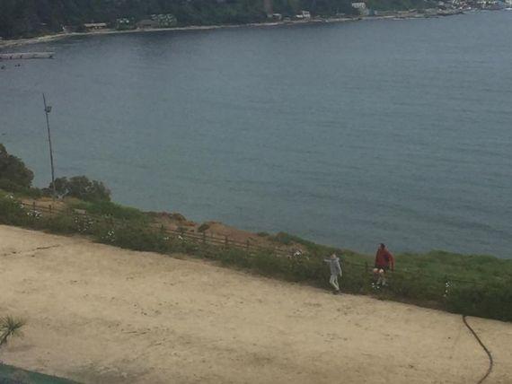 Departamento amoblado con  vista al mar