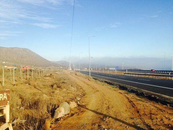 Terreno en estratégica ubicación a un costado de la carretera