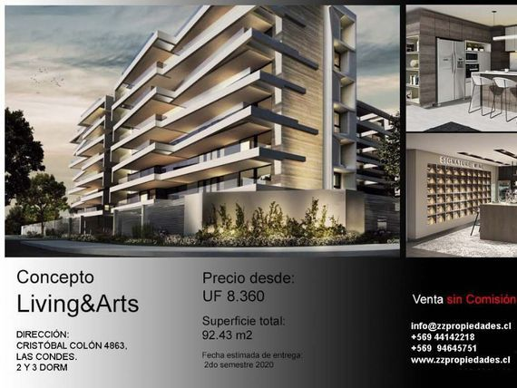 Concepto Living&Arts / COLÓN (2y3 dorm)