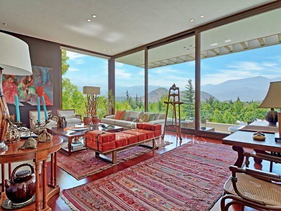 Espectacular Casa,  Mediterránea, Vista Cordillera