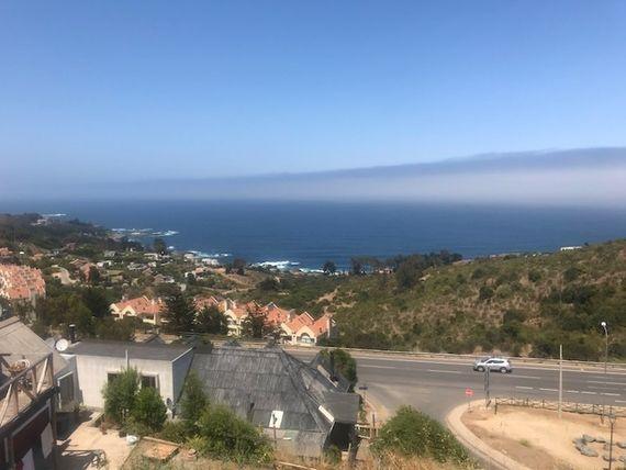 Atención Inversionistas casa en pueblo, 346 mt2  terreno con vista al mar