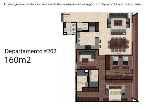 DEPARTAMENTO 201-202 EN VENTA, 2 RECÁMARAS, POLANCO IV SECC. CON TERRAZA