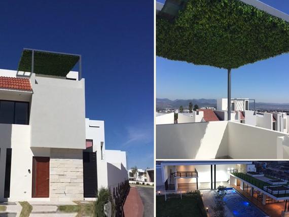"Se Vende Hermosa Casa en <span itemprop=""streetAddress"">Zibata</span>, 4 Habitaciones, ROOF GARDEN, Alberca.."