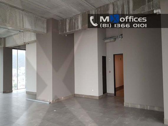 Oficina acondicionada en renta de 248m2m² con 55m2 de terraza en San Jerónimo