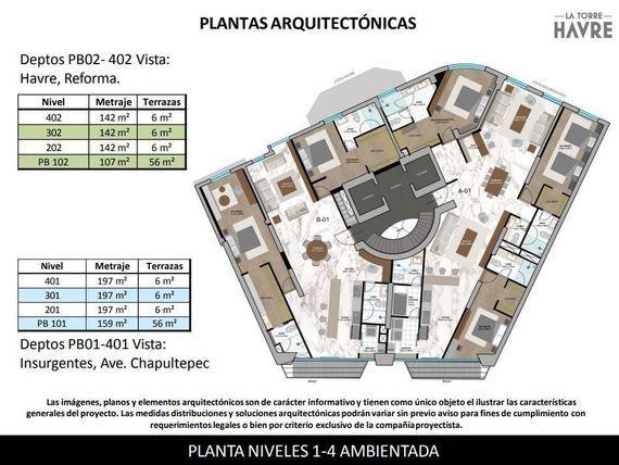 """Padrísimos departamentos en venta Torre <span itemprop=""""streetAddress"""">Havre</span>, Col. <span itemprop=""""addressLocality"""">Juárez</span>"""