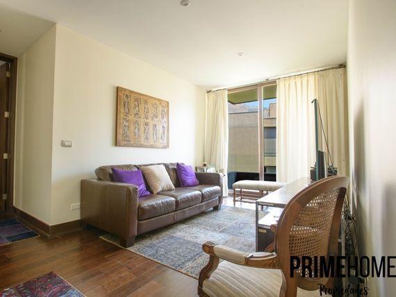 Exclusivo departamento con amplios espacios y vista