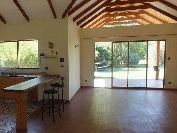 En la tranquilidad de Malloco hermosa Casa en Parcela