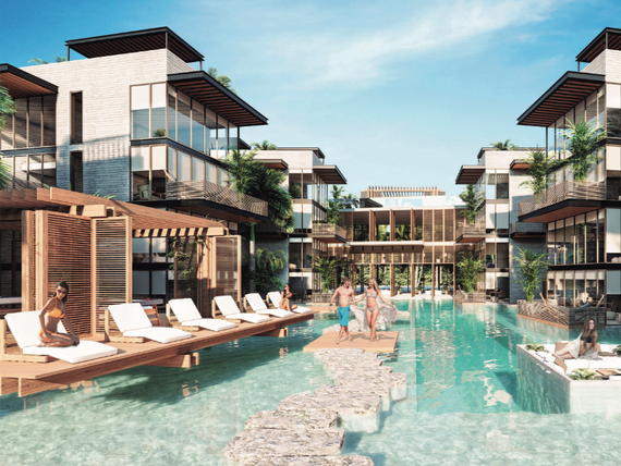 Penthouse doble altura en venta en Tulum