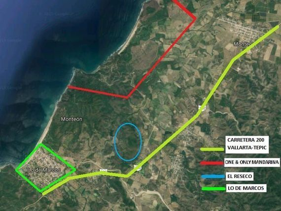 "Big Land for sale close to <span itemprop=""addressLocality"">Lo de Marcos</span> Nayarit"