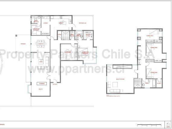 """Excelente Casa con Fantástico Jardín  en <span itemprop=""""addressLocality"""">Vitacura</span>"""