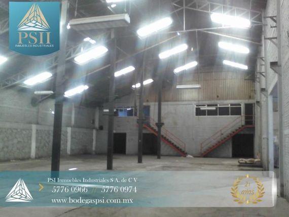 Bodega en Renta en Renta Ecatepec 1250 M2