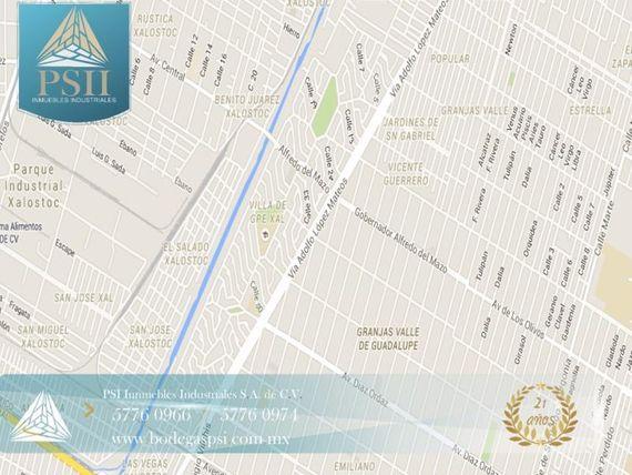 """Bodega en Renta en RENTA <span itemprop=""""streetAddress"""">Granjas Valle 500</span>M2"""