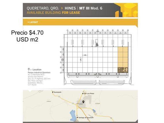 "Bodega en Renta en Parque Industrial <span itemprop=""addressLocality"">Querétaro</span>"