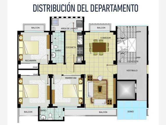 Departamento en Venta en Colonia Gil y Sáenz (El Águila)
