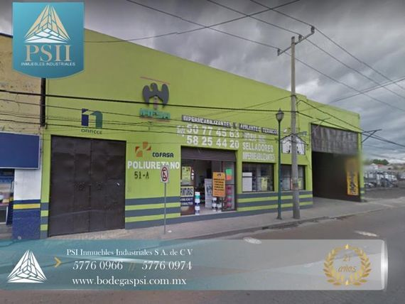 Bodega en Renta en RENTA ATIZAPAN 1120 M2 100% COMERCIAL