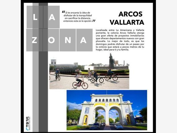 Departamento en Venta en Arcos Vallarta