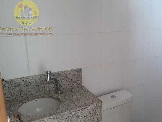 Excelente Apto 03 Qtos, 74m², Norte/Leste, varanda, 2 vagas, elevador, área de lazer, bem localizado.