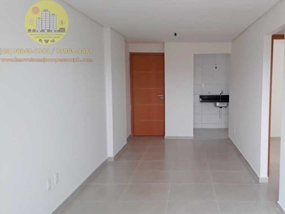 Excelente Apto 02 Qtos, 59m², Sul/Leste, varanda, 1 vg, elevador, área de lazer, ótima localização.
