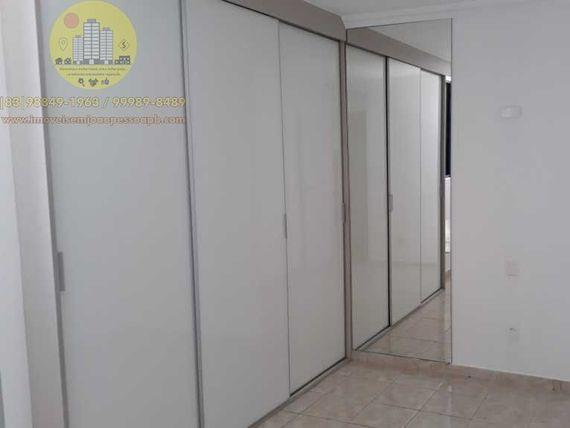 Excelente Apto 03 Qtos/02 Stes, 117m², varanda, home office, elevador, piscina, sl festas, bem localizado.
