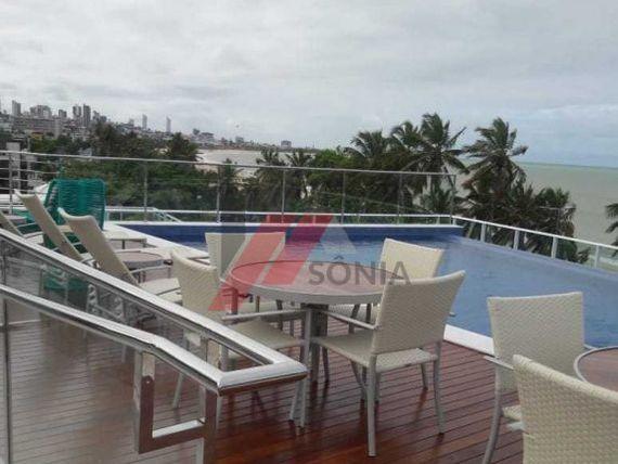 Apartamento para vender em Cabo Branco com 3 suítes