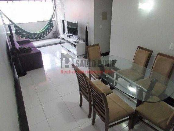 """Lindo apartamento na beira-mar do <span itemprop=""""addressLocality"""">Bessa</span> (100 m2, 3 quartos)"""
