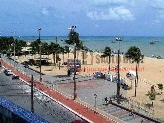 Flat Beira mar do Cabo Branco, mobiliado