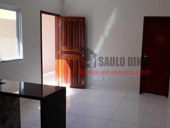 Casa nova com 2 quartos sendo 1 suite no bairro das Industrias