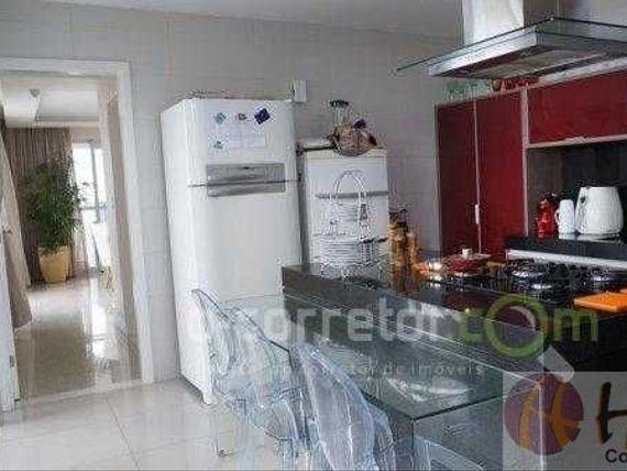 Apartamento de alto padrão, ambientado, vista panorâmica e área de lazer completa