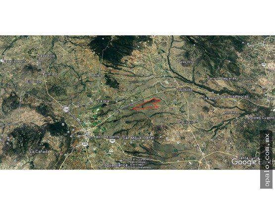 LOTE 232 HAS - VIA AMEALCO - S.J.del RIO- OPORT.