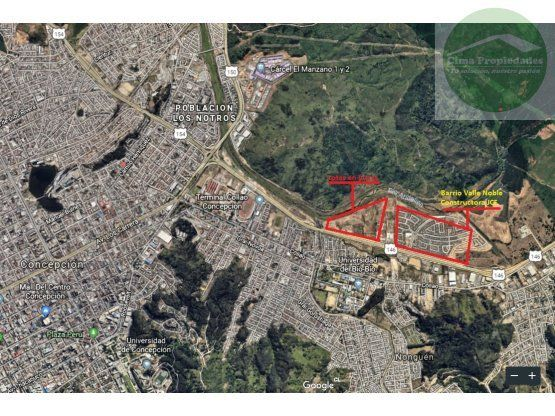 "Terrenos en Venta <span itemprop=""addressLocality"">Concepción</span> Sector Estadio Collao"
