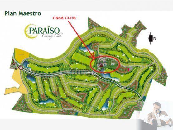 EXCELENTE LOTE RESIDENCIAL, PARAÍSO COUNTRY CLUB