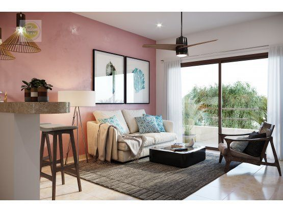 Mahahual 1 BR apartment with terrace - TR