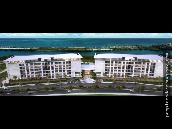 """Departamentos de lujo 3R  ALLURE  Puerto <span itemprop=""""addressLocality"""">Cancún</span>"""