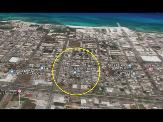 "Terreno en carretera federal <span itemprop=""addressLocality"">Playa del Carmen</span>"