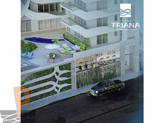 "Torre Triana <span itemprop=""addressLocality"">Mazatlán</span> Playa Norte"
