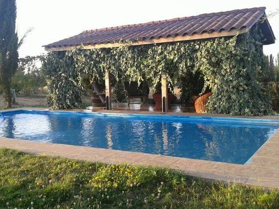 Hermosa parcela de 4,3845 ha con casa y piscina en la Chispa