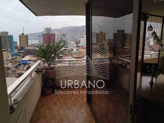 """SIN COMISION, Depto. Edificio Urbano, Centro de <span itemprop=""""addressLocality""""><span itemprop=""""streetAddress"""">Iquique</span></span>"""