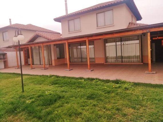 "Espectacular Casa  Condominio Laguna Del Sol <span itemprop=""addressLocality""><span itemprop=""streetAddress"">Padre Hurtado</span></span>"