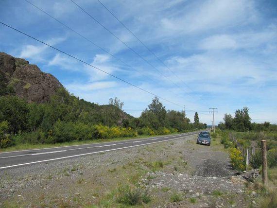"""Parcela 5000 mts2,orilla camino,  a 1 km de <span itemprop=""""addressLocality""""><span itemprop=""""streetAddress"""">Antuco</span></span>"""