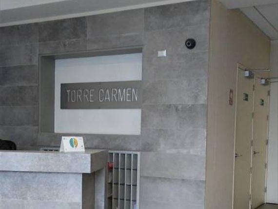 "Oficina en Torre Carmen, <span itemprop=""addressLocality""><span itemprop=""streetAddress"">Curicó</span></span>. Arrienda"