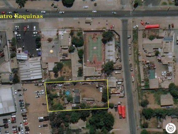 Terreno de 2.000 m2 aprox Pampa Baja/ C. Esquinas