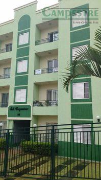 Apartamento residencial à venda, Jardim Pacaembu, Valinhos - AP0506.
